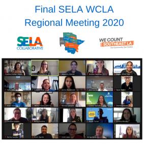Final SELA WCLA Regional Meeting