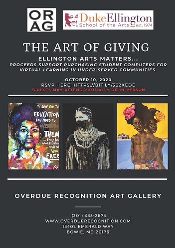 The Art Of Giving 2020 Flyer