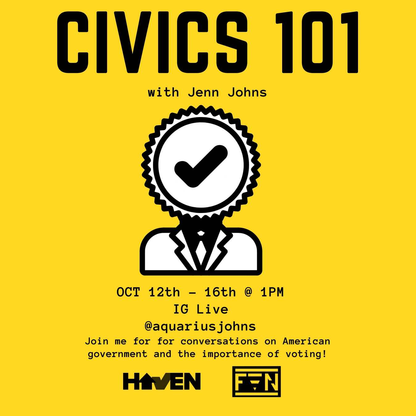 Civics 101 Flyer
