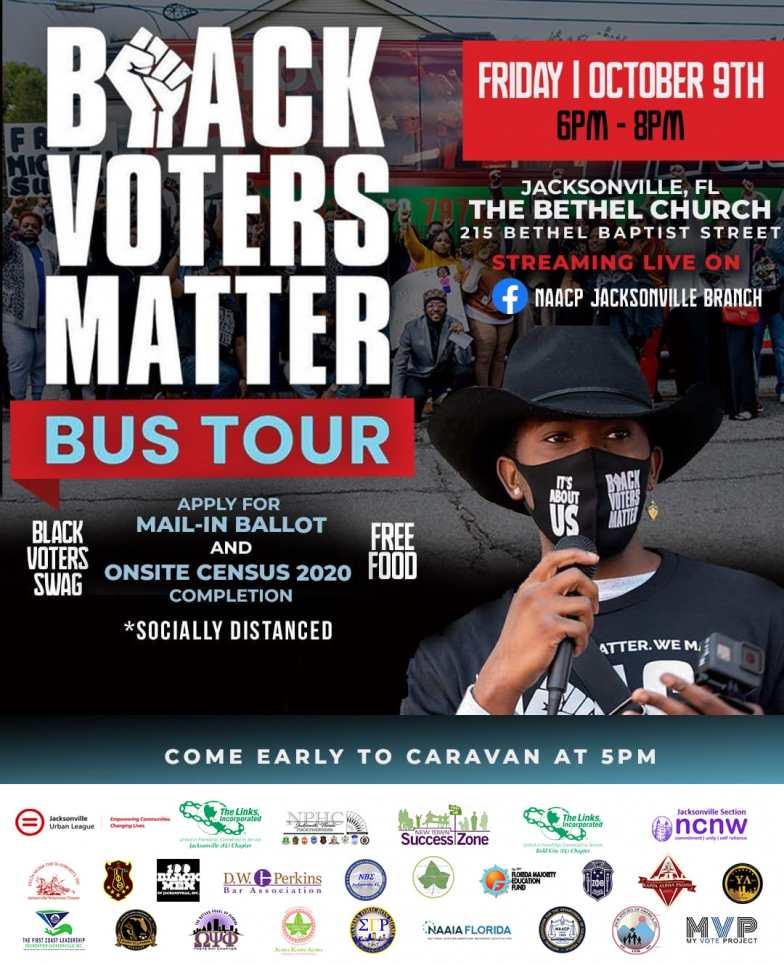 Black Voters Matter Bus Tour - Jacksonville