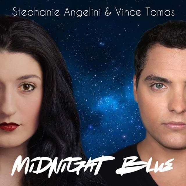 """Midnight Blue"" single cover."
