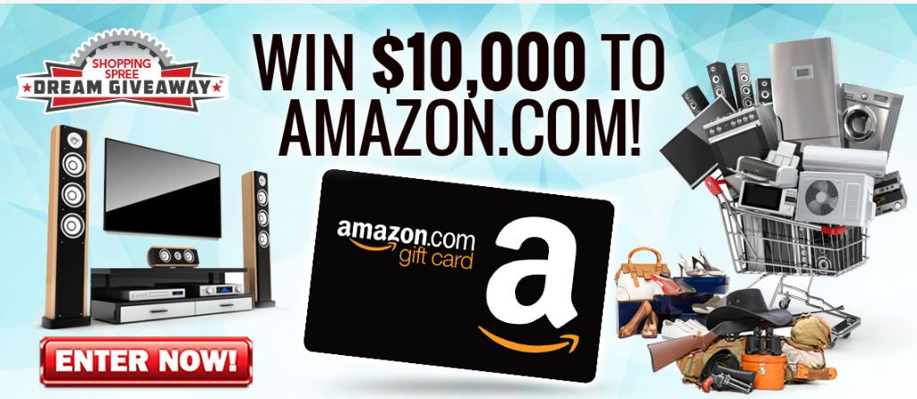 Get tickets to win an Amazon Shopping Spree!