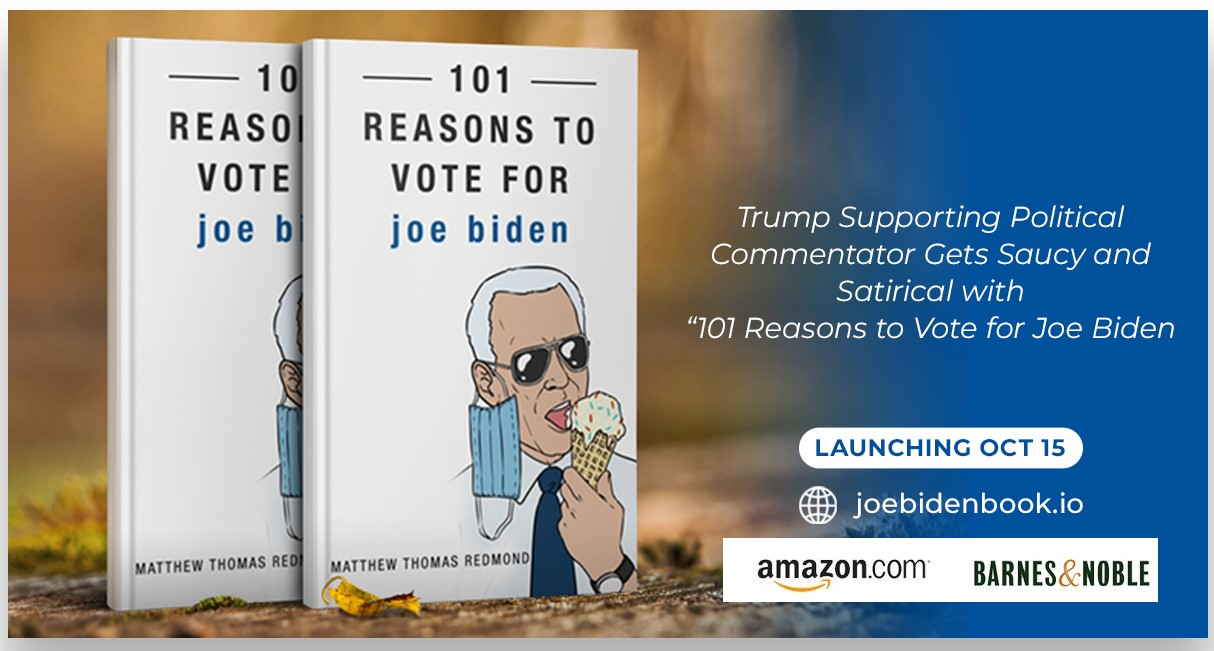 101 Reasons to Vote for Joe Biden Book Cover