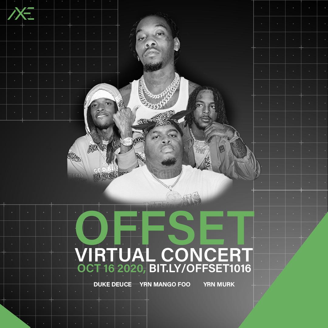 Offset Virtual Concert Lineup