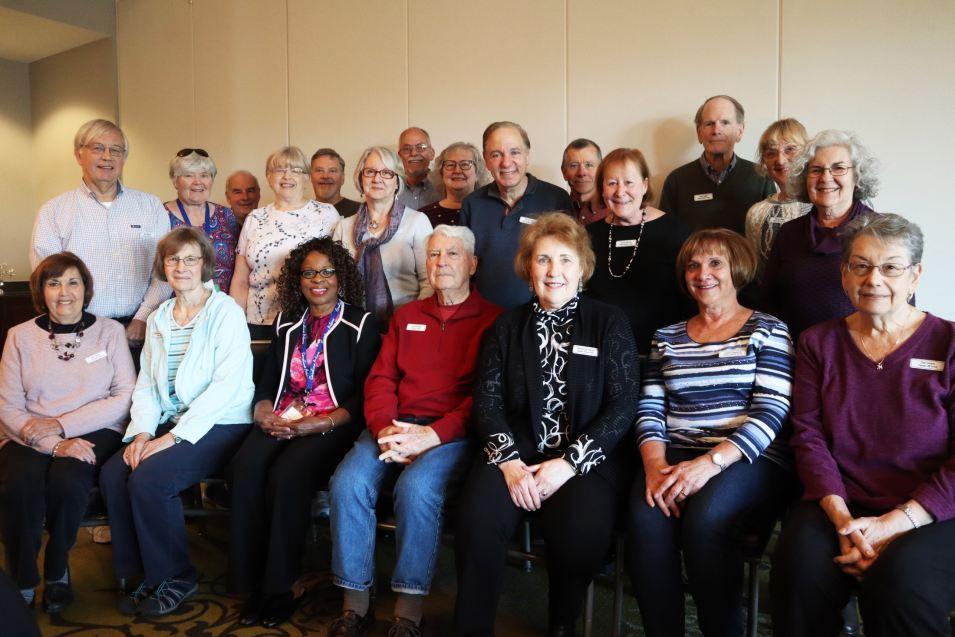 Volunteers from Carolina Arbors in Durham, NC.
