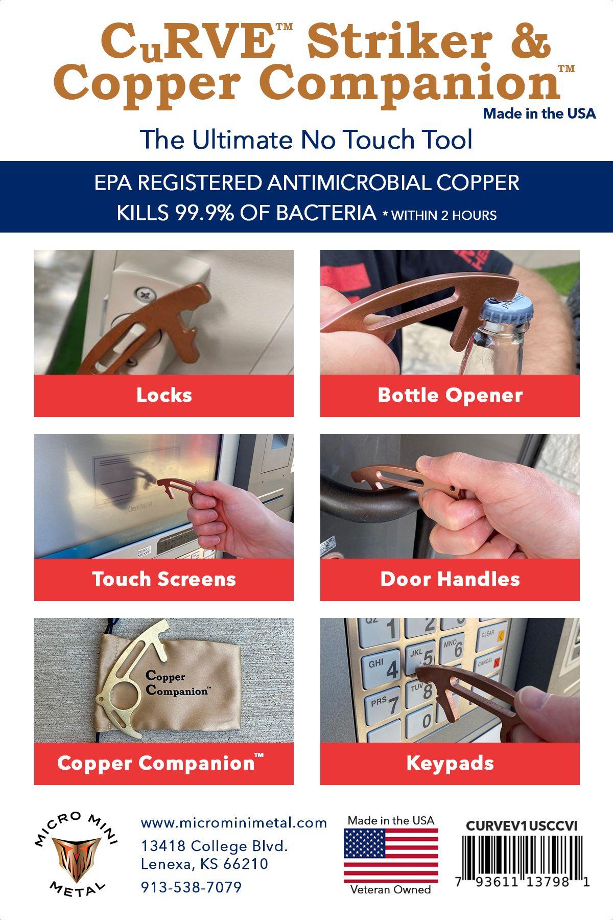 CuRVE Striker and Copper Companion Uses