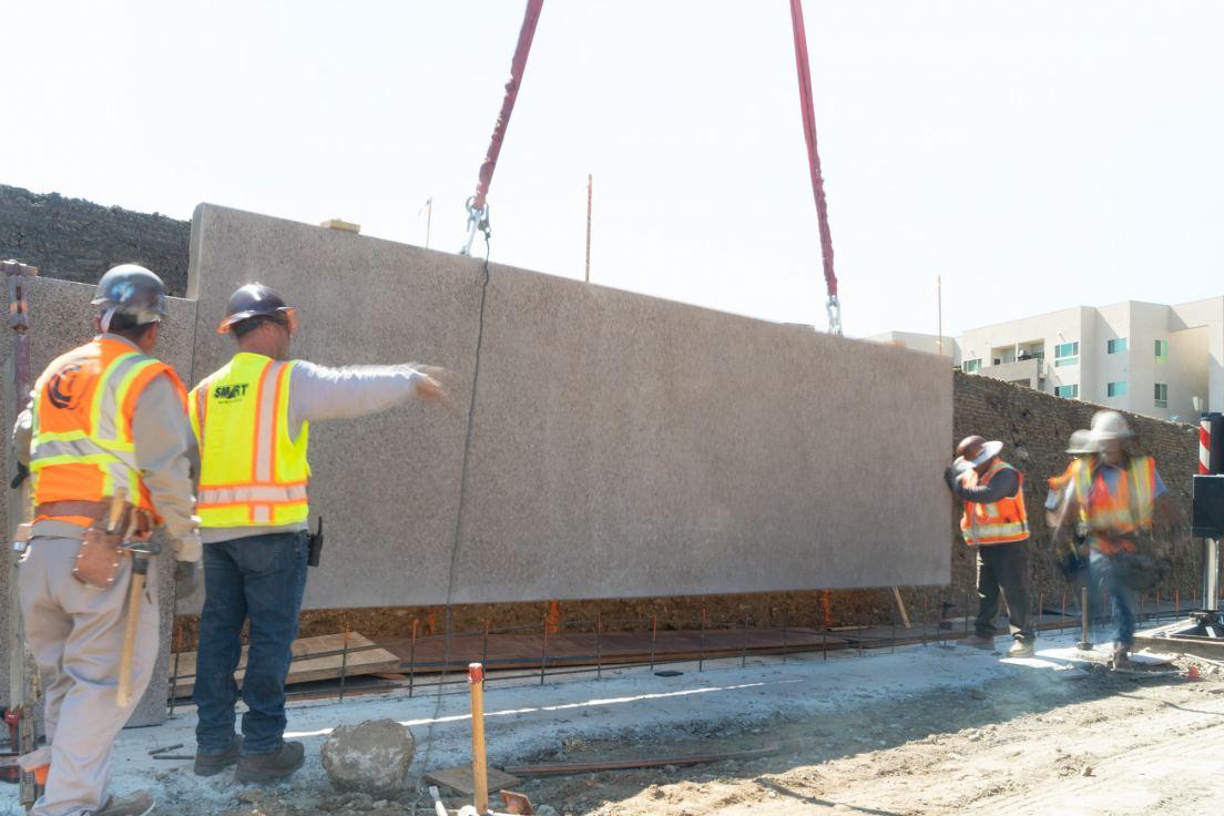Fast Tilt Retaining Wall