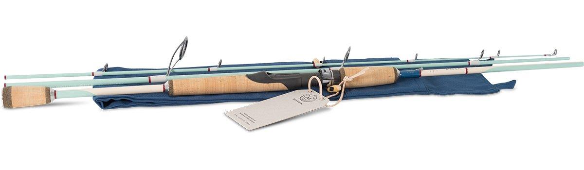 Maven Gulf Series Spinning Rod in Seafoam