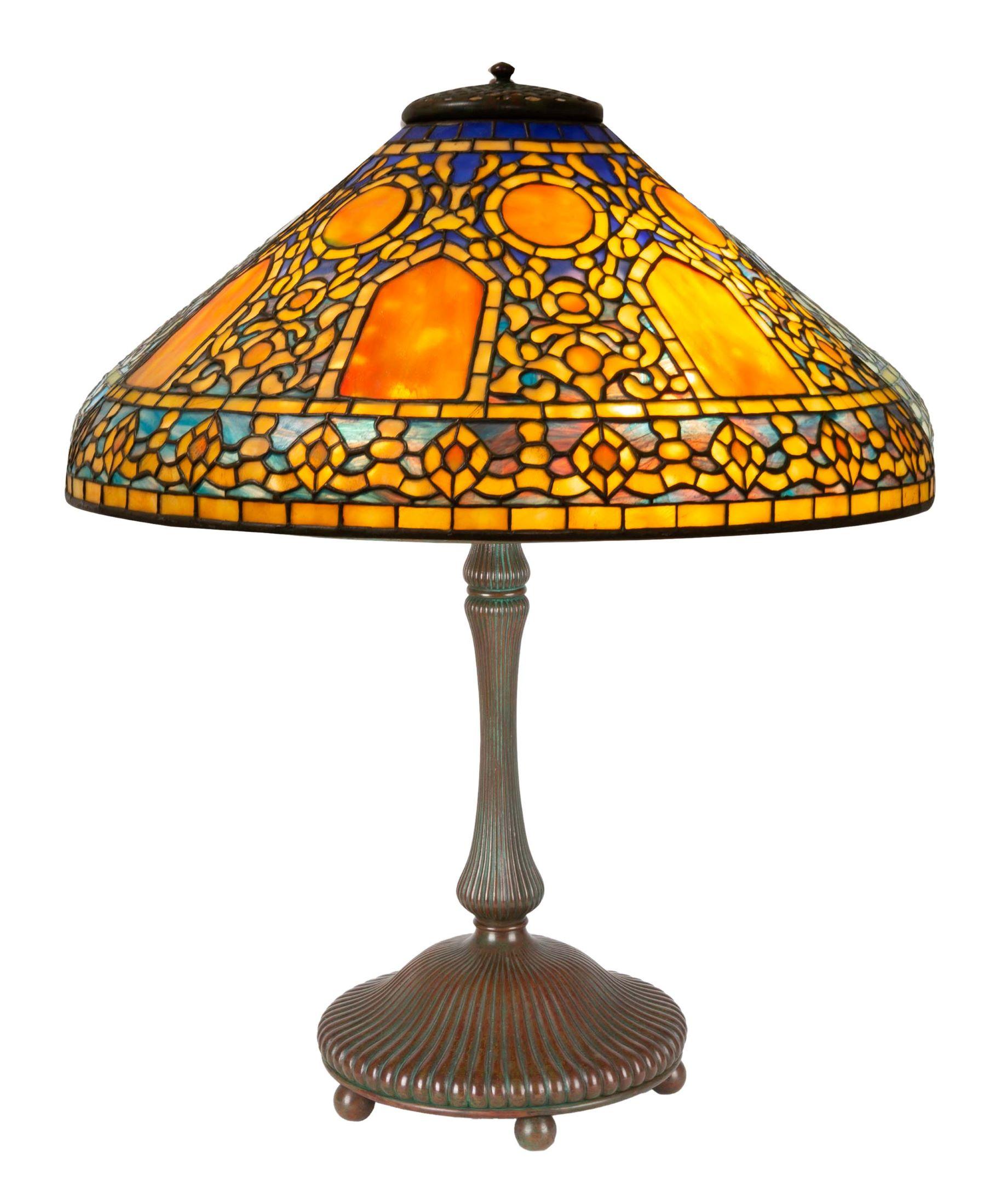 Lot 538, Tiffany Lamp