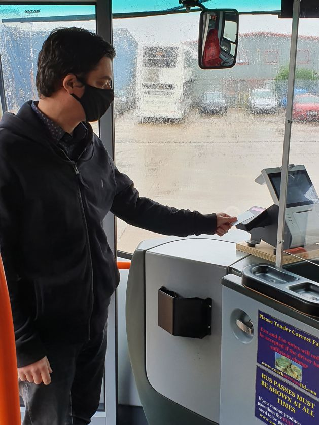 Transmach is an innovator in contactless ticketing