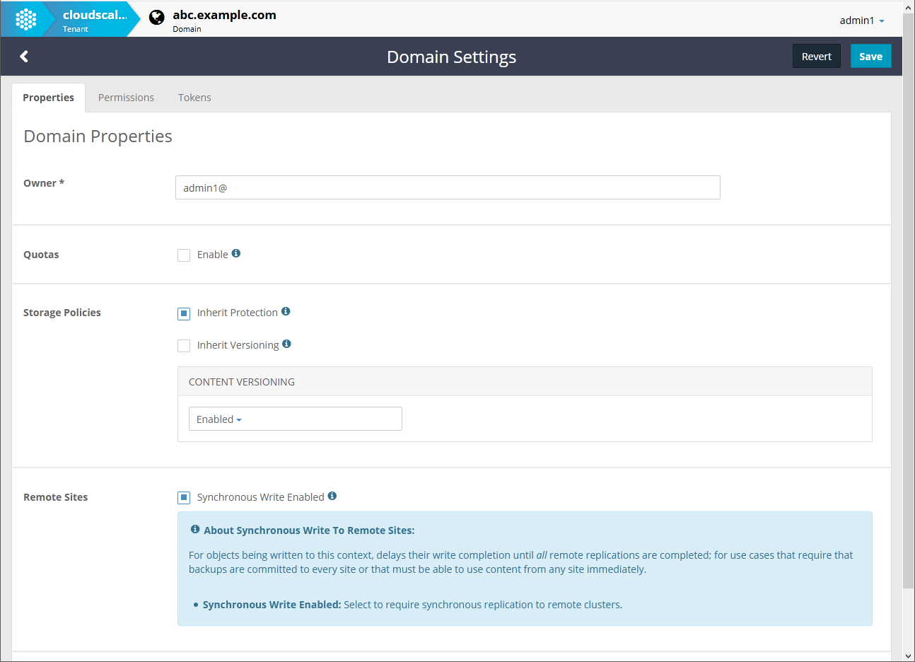 Swarm 12 Remote Synchronous Write Domain