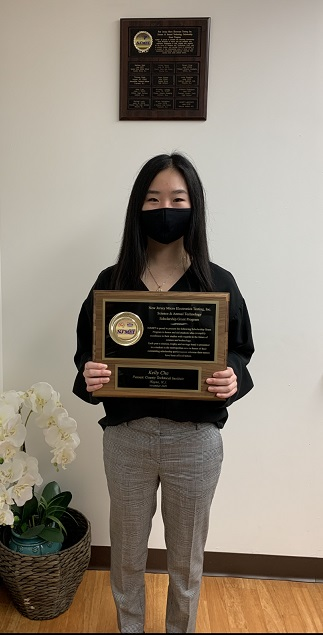 NJMET 2020 Scholarship Winner Kelly Cha