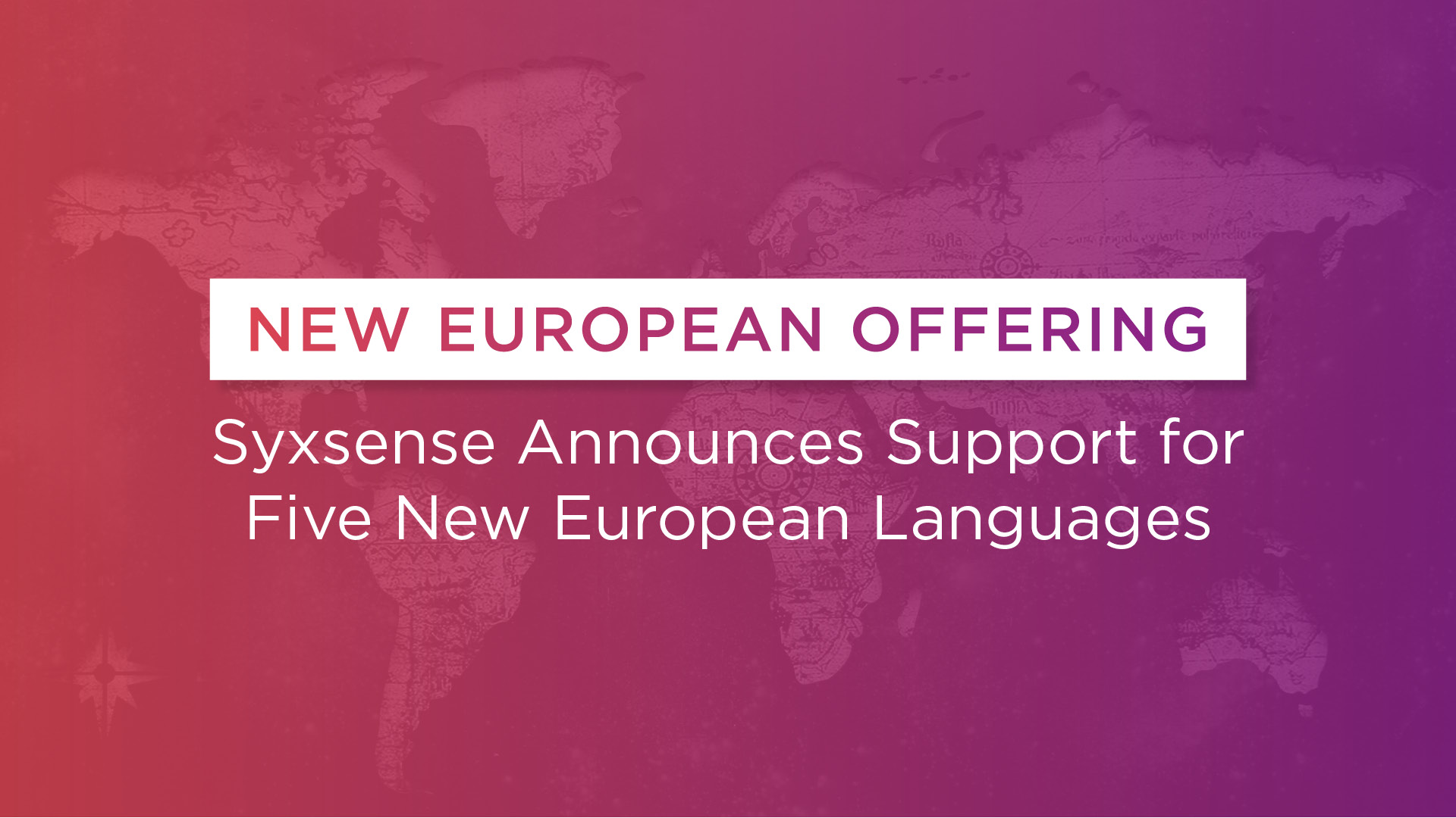 Syxsense Extends Language Support in Europe
