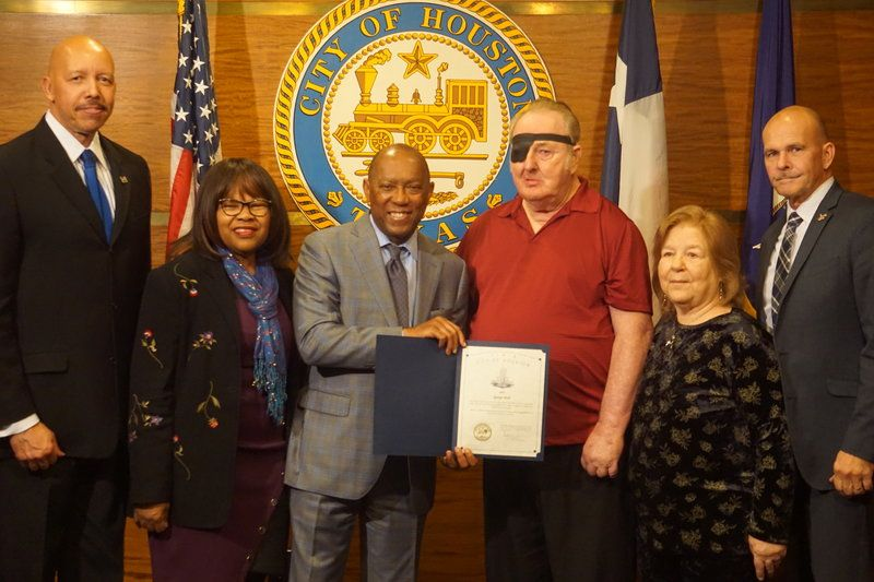 Vietnam Veteran George Moll Receives Houston Honor