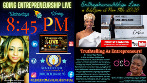 Entrepreneurship Live Show 8:45pm Episode 11112020