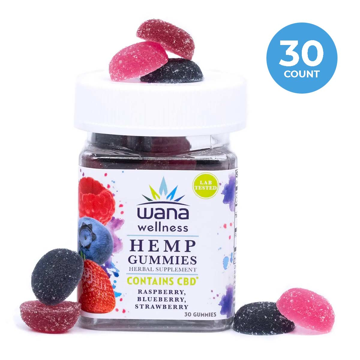 Wana Wellness Hemp Gummies