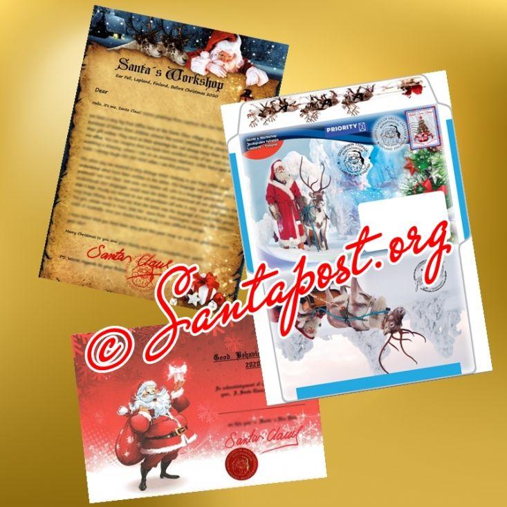 Pic Santa Letter 2020 Santapost