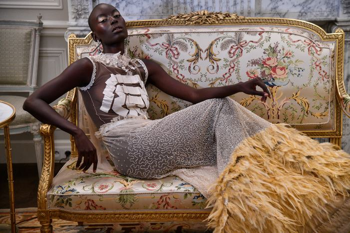 Mame Anta Wade is the new muse of NEREIDES Paris