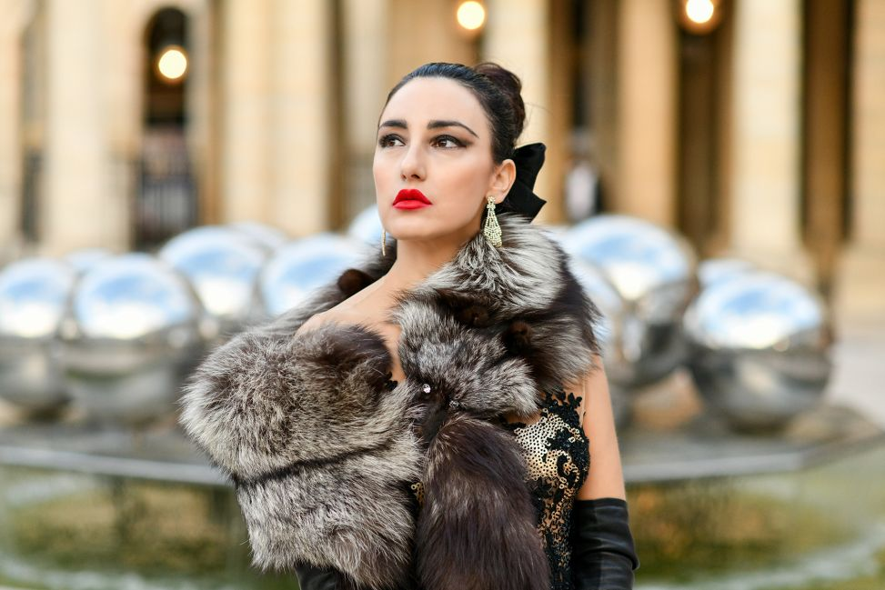 Lilly Mandel is the new face of NEREIDES Paris