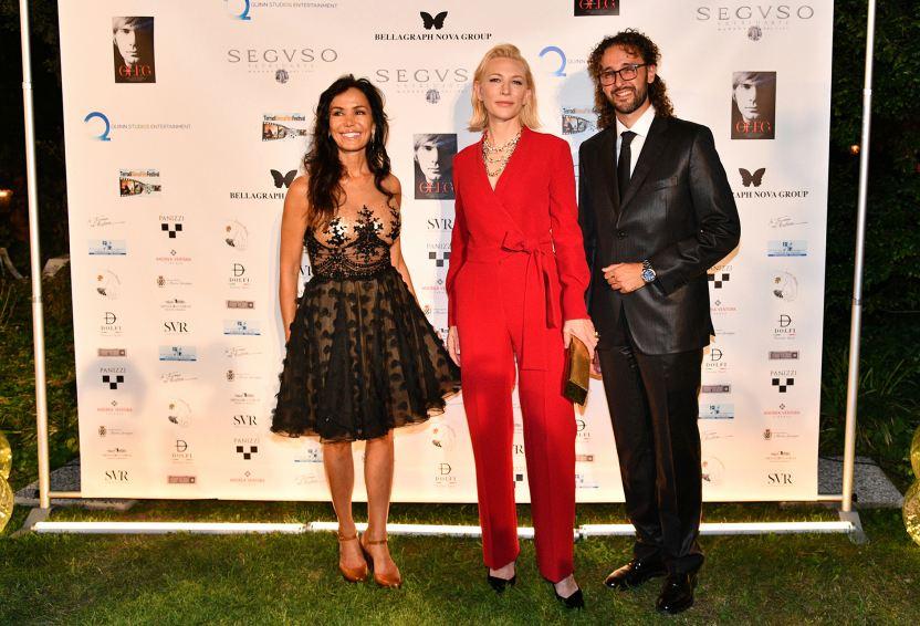 Prince Nereides de Bourbon with Cate Blanchett