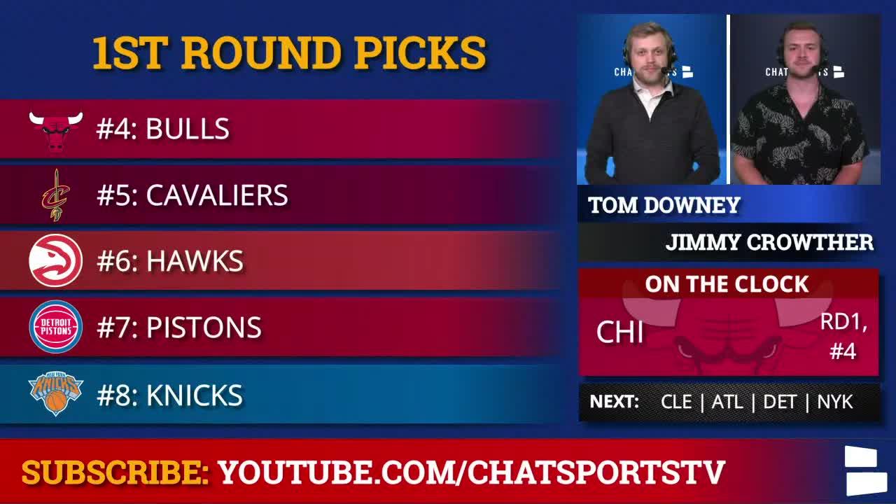 2020 NBA Draft Screenshot Draft Order