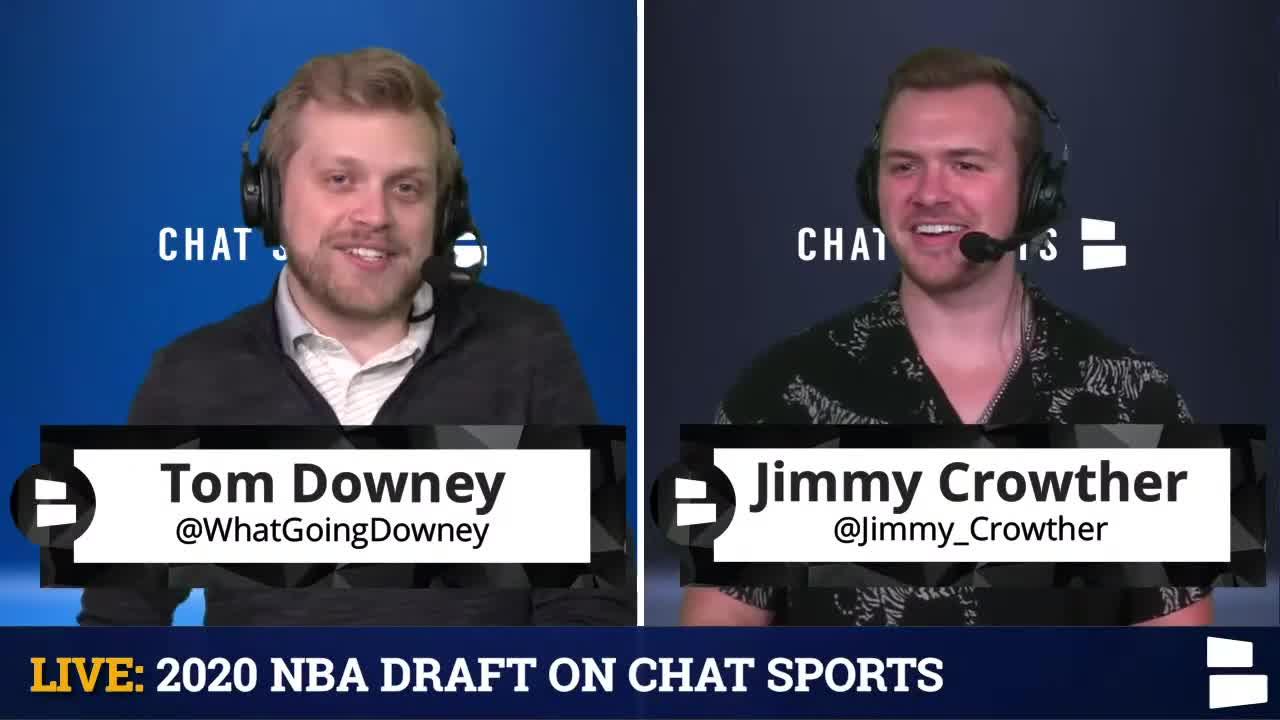 2020 NBA Draft Screenshot Hosts Open Show