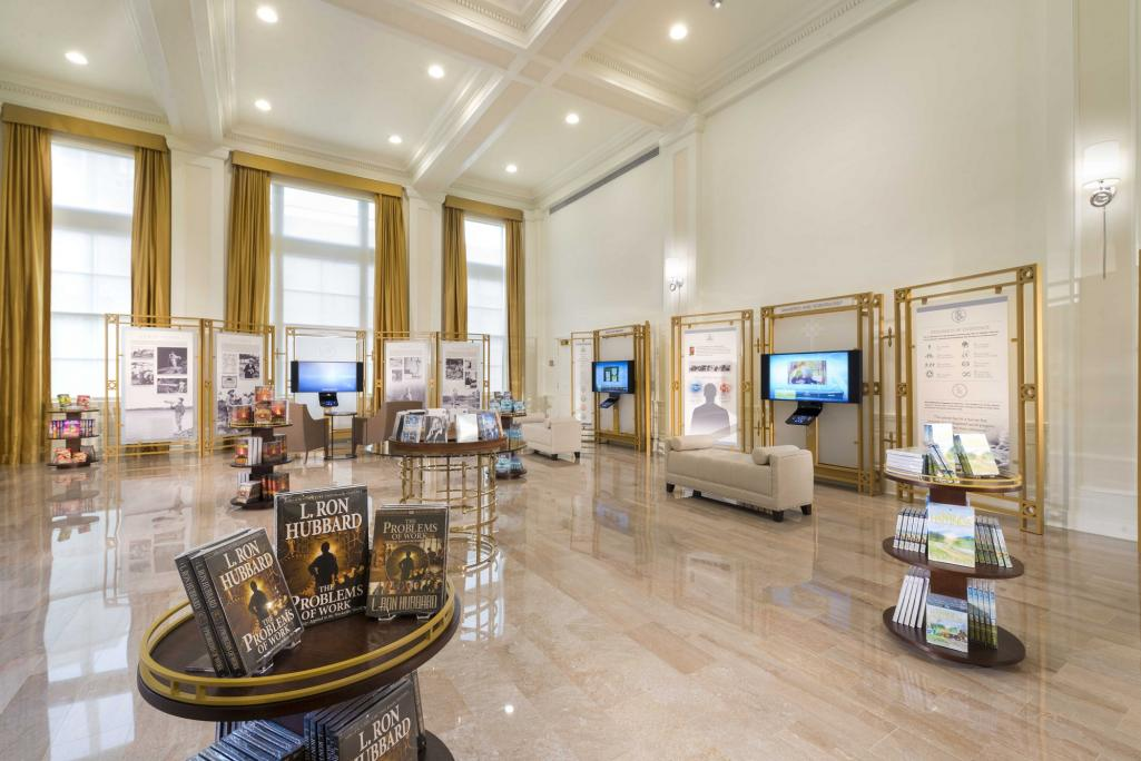 Scientology Information Center Lobby