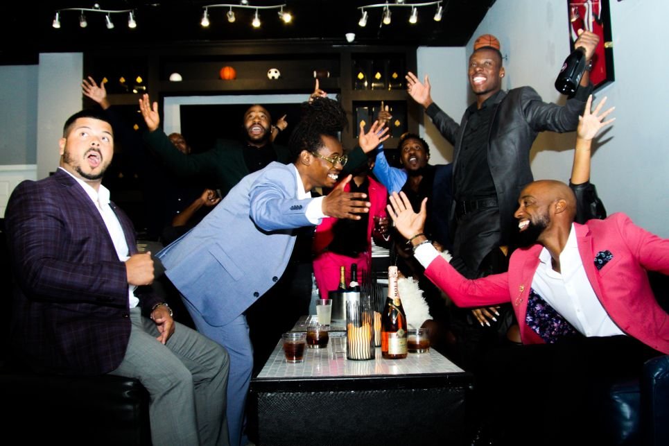 Members enjoy ManCave Atlanta's exclusive perks