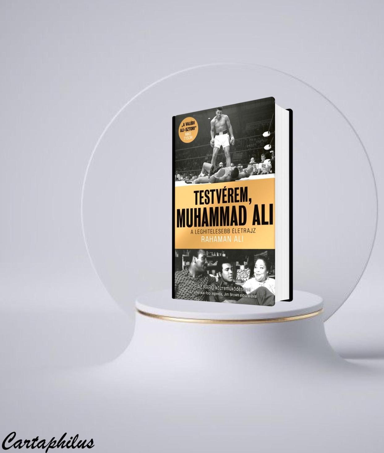 Testverem Muhammad Ali Book