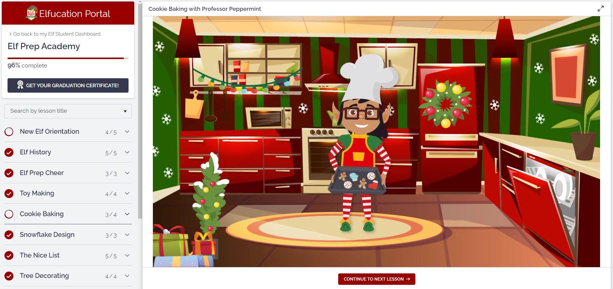 Elf Prep Elfucation Portal
