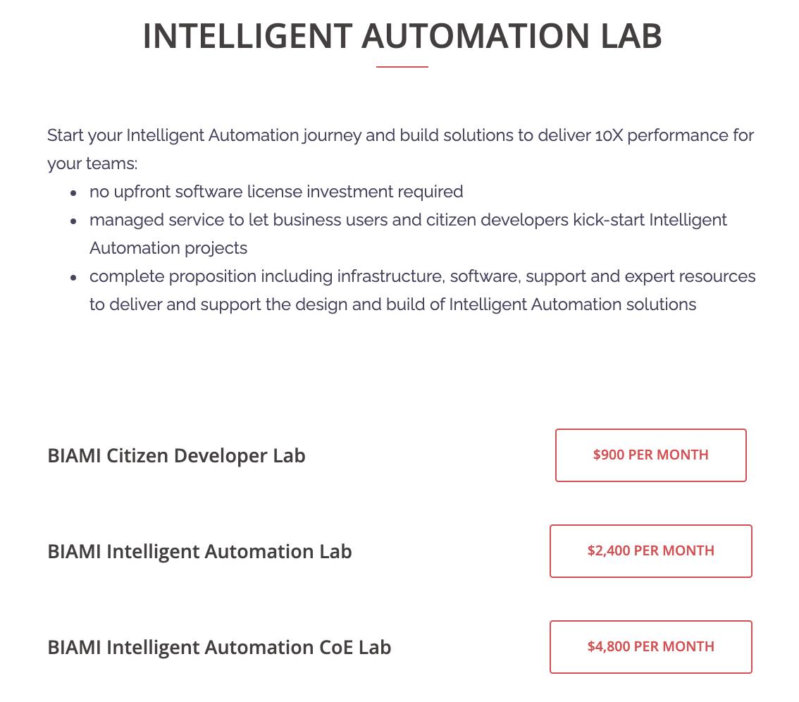 Intelligent Automation Lab