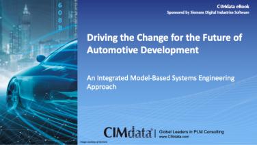 CIMdata eBook on automotive product development