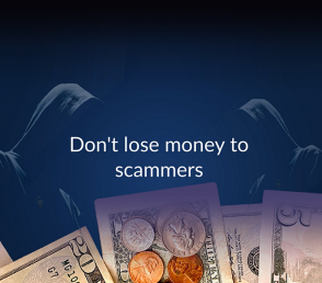 Do Not Lose Money To Scammers