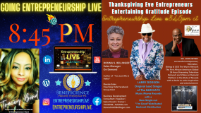 Donna S. Bellinger Gratitude Entrpreneurship LIVE