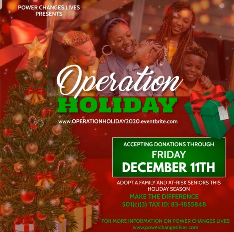 Operation Holiday 2020