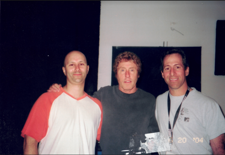 Harry Javer With Roger Daltrey