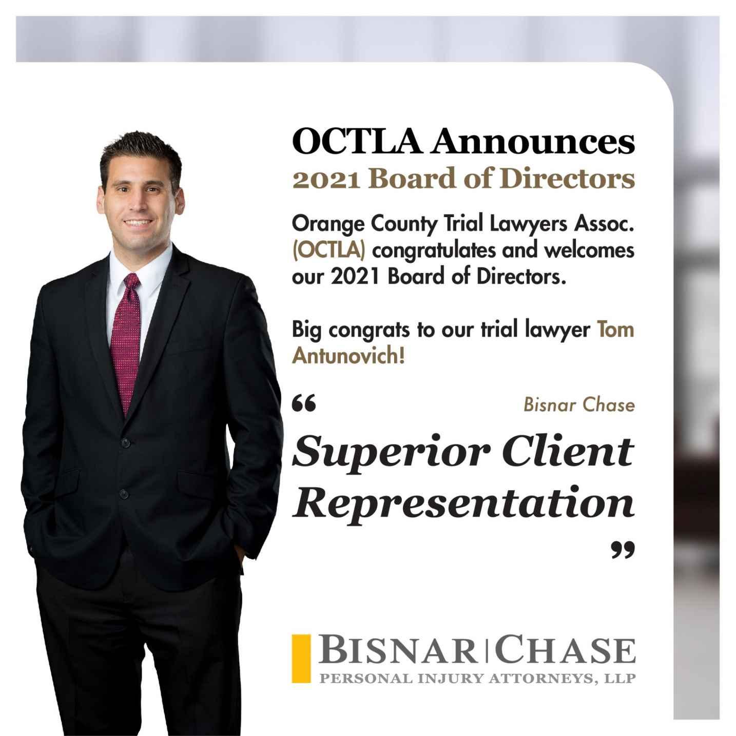 2021 Board Of Directors, OCTLA
