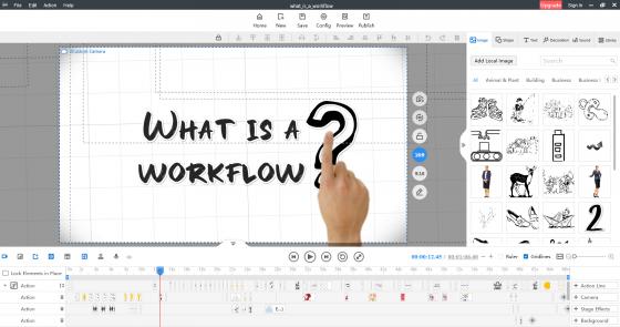 Sketch Video Maker-Mango Animate WM
