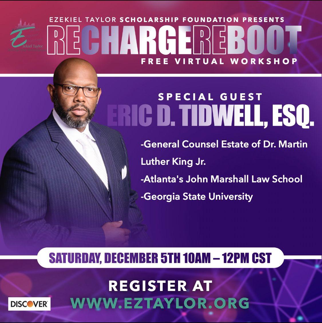 Eric D. Tidwell, Esq., Estate of Dr. MLK Jr.
