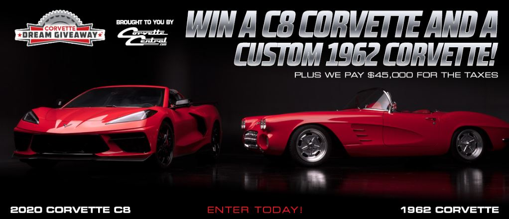 The Corvette Dream Giveaway grand prize package