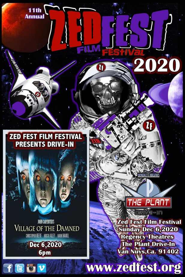 Zed Fest  Film Festival Drive-In 2020 Event Poster