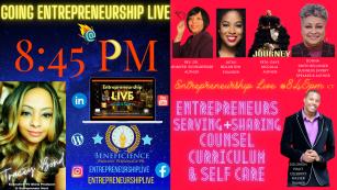 Donna S. Bellinger   Entrepreneurship Live Show