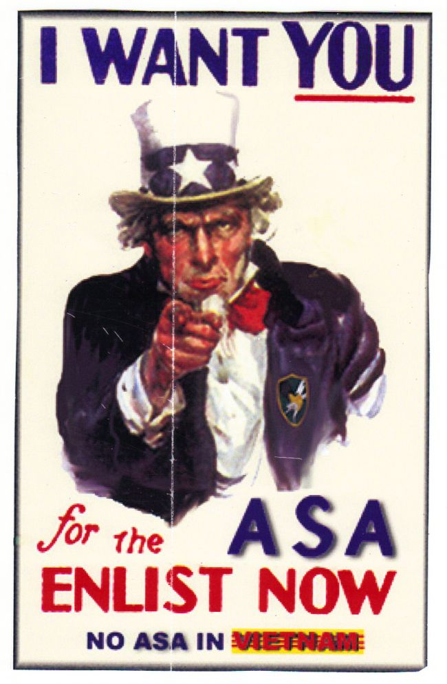 I Want You For The ASA