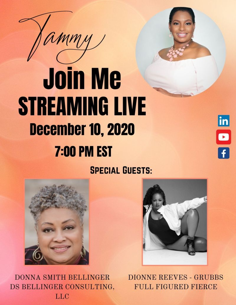 Donna S. Bellinger Shares on Tammy Show Tonight