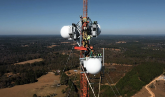 SuperCell 180-meter broadcast tower