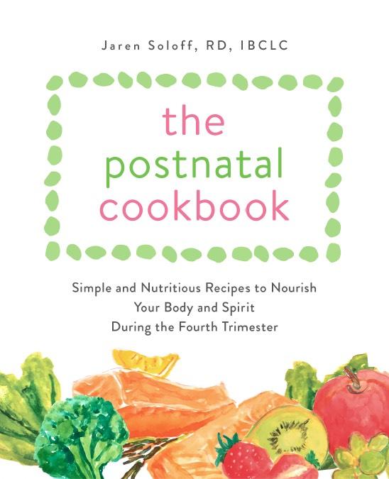 Postnatal Cookbook Cover