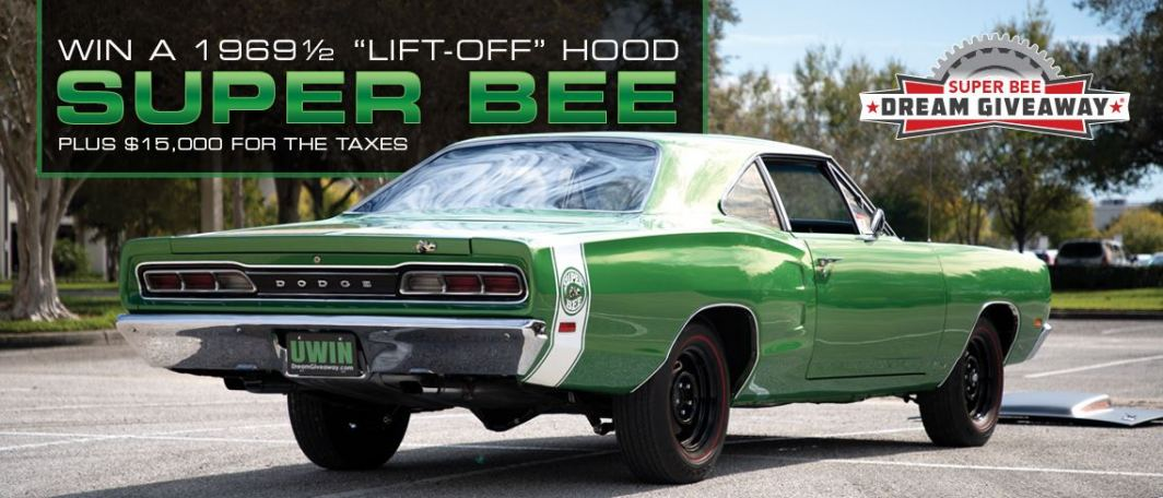 The Super Bee Dream Giveaway Grand Prize-1 of 153.