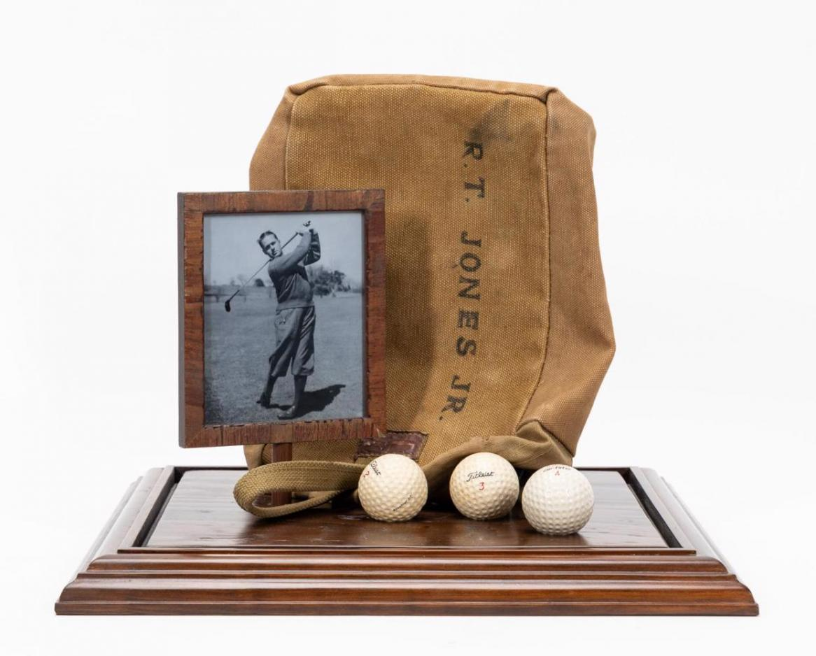 Bobby Jones's circa 1950s personal shag/range bag