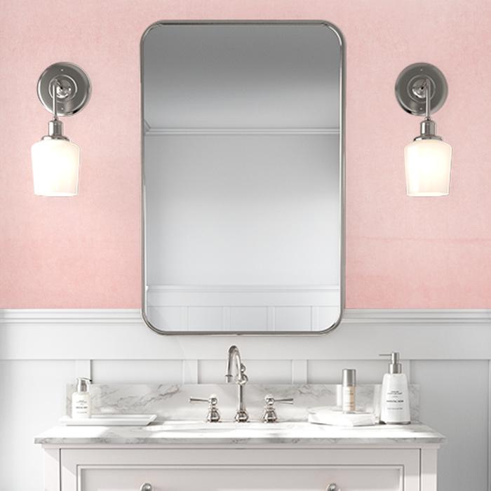 Watercolor Ombre Wallpaper Pink
