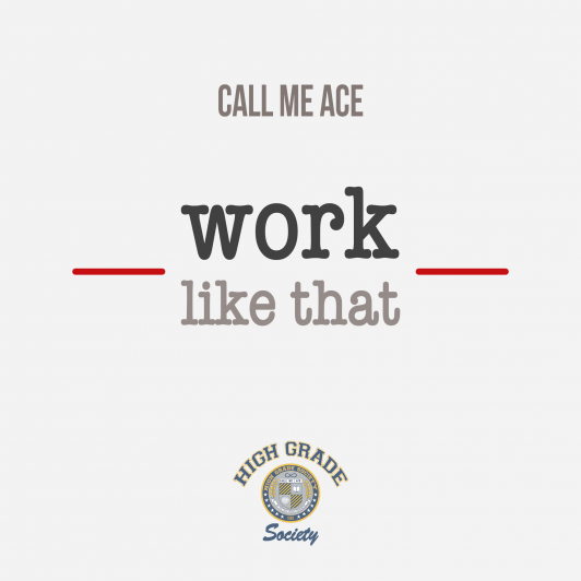 """""""Work Like That"""" Single Cover"""